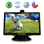 Gps Automotivo Discovery Tela Lcd 4.3 Slim Touch Mp3 Com Tv