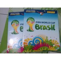 Álbum Copa Do Mundo Fifa Brasil 2014 Vazio