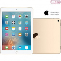 Ipad Pro Apple Wi-fi 4g 128gb Ios 9 Dourado Processador A9x