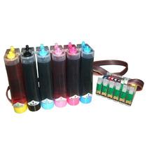Bulk Ink Para Impressora T50/r290/tx720/r270 Com Tinta -novo