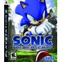 Jogo Ps3 Sonic The Hedgehog Original Lacrado