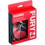 Cooler Pcyes Fan Fury F4 120mm Led Vermelho Gamer Gabinete