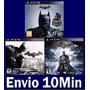 Batman Arkham Trilogia (3 Em 1) Ps3 Psn