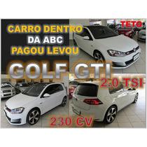 Golf Gti 2.0 Tsi 230 Cv Turbo Ano 2014 Com Teto Solar