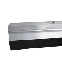 Rodo De Porta Friso Veda Porta Alumínio 80cm Com Borracha