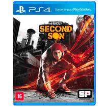 Jogo Infamous Second Son Ps4 Playstation 4 Em Português