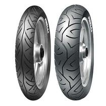 Par Pneu Traseiro+dianteiro Pirelli Sport Demon Cb 300
