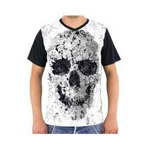 Camiseta Caveiras - Piscodélico - Reglan