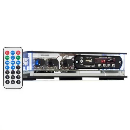 Amplificador Ambiente Receiver Orion Slim Bt Usb Sd 40 Wrms