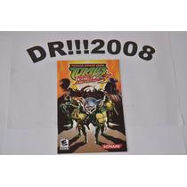 Manual Turtles 3 Original P/ Playstation 2!!!