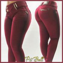 Pit Bull Jeans Calça Original Empina Bumbum Com Bojo