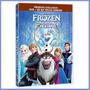 Dvd + Cd Frozen - Uma Aventura Congelante Disney Lacrado