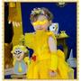 Vestido Bela Completo - Princesa Bela E A Fera-princesa