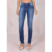 Calça Jeans Super Skinny Feminina Denuncia