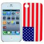 Case Iphone 4 Bandeira Eua Estados Unidos Frete R$ 8,00