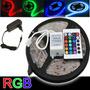 Fita Led Rgb 5m Super Led - Controle Remoto - Fonte
