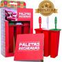 Paleteira - Fôrma Para Picolés - Paleta Recheada Premium