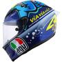 Capacete Agv Corsa Misano 2015 Valentino Rossi - Tubarão