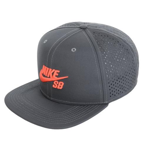 Boné Nike Sb Un Cap Tricker Snapback Preto