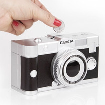 Cofre Camera Fotográfica Dslr Canon Nikon Retrô Vintage