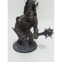 Miniatura Troll De Batalha Senhor Anéis - Eaglemoss Ed 24