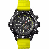 Relógio Timex Medidor De Profundidade E Temperatura T2n958pl
