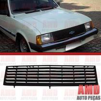 Grade Dianteira Radiador Chevette 83 A 86 Preta Rx12001