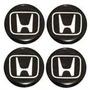 Kit C/4 Emblemas Resinado P/ Calota 5 Honda Fit-apartir:2004