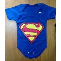 Body Super Herois Super Homem Infantil Bebê Superman Lindo!!