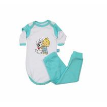 Pijama Bebê Menino - Body - Marca Nanar