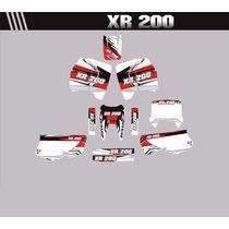 Adesivos Gráficos Personalizados Xr 200 Cola 3m Importada