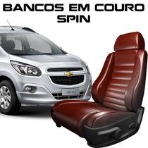 Capas Banco De Couro Spin - Peças Spin Couro Chevrolet Spin
