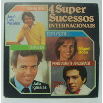 Compacto Vinil 4 Super Sucessos Iternacionais - 1981 - Disco