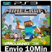 Minecraft Ps3 Play3 Psn ** Jogo Midia Digital --> Portugu