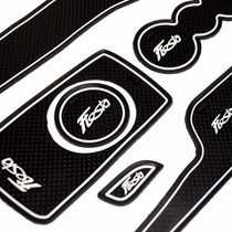 Kit Acessório Ford New Fiesta Tapetes Borracha P/ Portas Etc