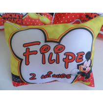 50 Almofadas Personalizadas Aniversário Mickey Outros Temas