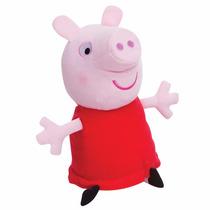 Peppa Pig Pelúcia 30cm Estrela Queima De Estoque