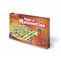 Bingo Da Matemática Empório Mundi Brinquedos Educativos