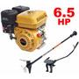 Motor Barco 6,5hp 4t Buffalo Bote + Rabeta Completa 1,70m