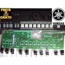 Placa Pnc Botões Start / Regist 1~8 Teclado Yamaha Psr S650