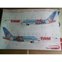 Tam Waltdisneyworld Boeing 767-300 Em Escala 1/144
