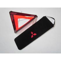 Capa Bolsa Triangulo Ferramentas Macaco Bordada Mitsubishi
