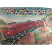 Ferrorama Estrela Xp 1500 + Locomotiva E Vagões Extra.