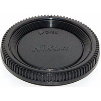 Tampa Original Corpo Camera Logo Nikon D7000 D7100 D7200