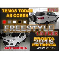 Ecosport Freestyle 1.6 Flex Automatica Ano 16/16 - 0km Efe6