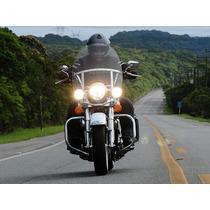 Parabrisa Bolha Universal Top Moto Custon Frete Grátis
