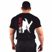 Camiseta Estampada Jiu-jitsu 100% Algodão - Original