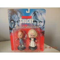 Filme Brinquedo Assassino - Chucky E Tiffany- Sideshow- Raro