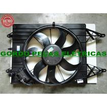 Defletor + Motor Da Ventoinha Gol G5 / Fox / Polo Com Ar