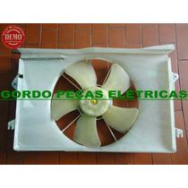 Defletor + Motor Da Ventoinha + Hélice Corola 2008 A 2010